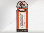 H-D® Motorcycles Tin Thermometer