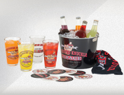 BKG Pint Glass Party Bucket Set