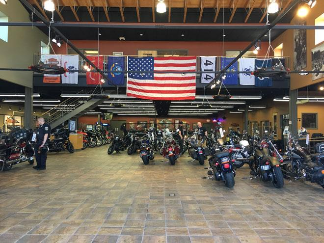 The House Of Harley Davidson Bikes